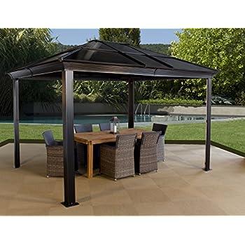 Amazon.com : Sojag Moreno Sun Shelter, 10' x 12', Charcoal ...
