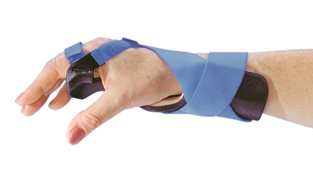 AliMed Ulnar Deviation Wrist Splint, Long, Right, Medium