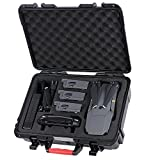 Smatree D600 Carry Case for DJI Mavic Pro Platinum/ Battery Charger, Hard Waterproof Storage Bag