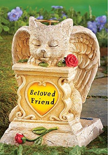 Solar Light Angel Grave in US - 7