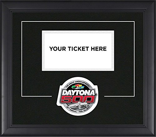2017 Daytona Speedway Commemorative Ticket Pop-In Frame with Logo - Fanatics Authentic Certified - NASCAR Ticket Plaques and Collages