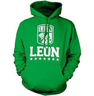 New! Club Leon Crest Mens Hooded Sweatshirt