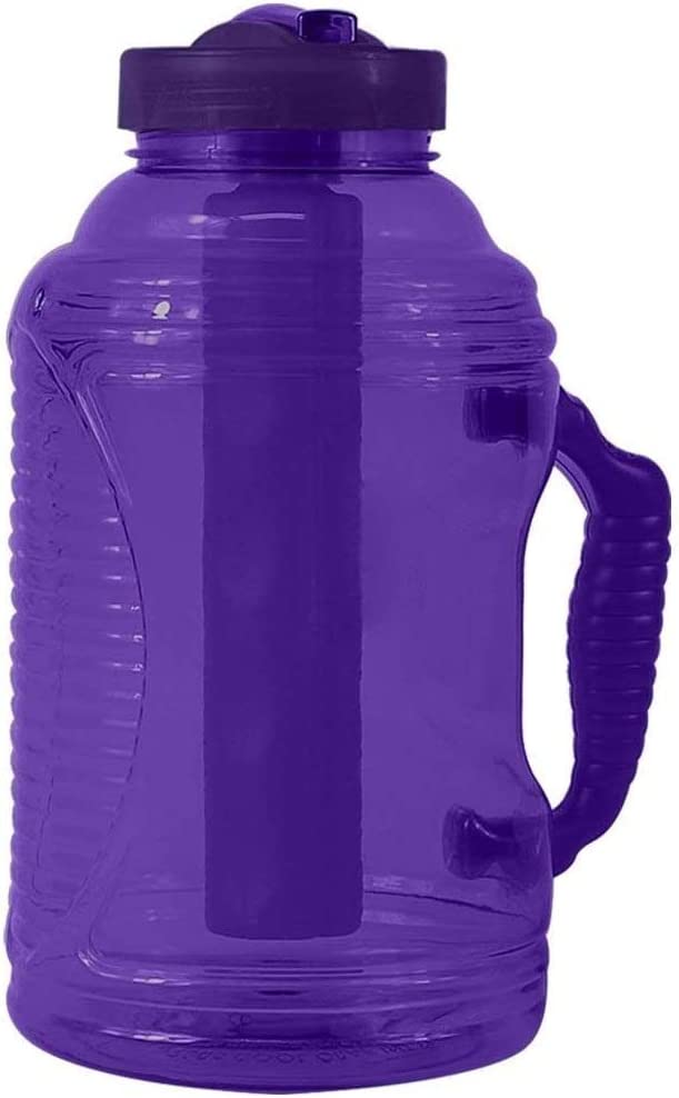 COOL GEAR EZ-Frezee Big Freeze 80 Oz Sports | Hiking | Camping Water Bottle