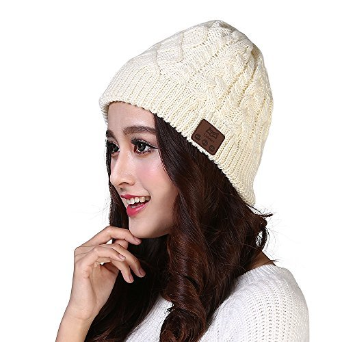 Balee Bluetooth Beanie Hat Cap with Wireless Headphones Headsets for Winter Sports