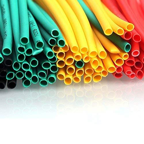 Cable Camisa Termoretractil Cobertura Tubo con Aislamiento Encamisado Tubo Set Haloku Tubo Encogible 164pcs Set