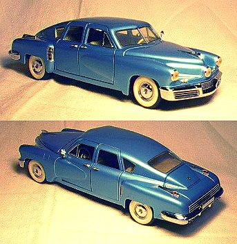 1/24 1948 Franklin Mint Tucker Torpedo - Franklin Mint Model Cars