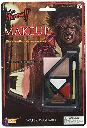 Wolf Halloween Makeup Man (Forum Novelties 199242 Werewolf Makeup)