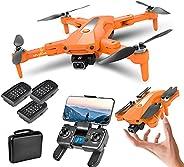XFTOPSE K80 PRO Drone com Câmera 4K ESC Profissional, 5G Wifi FPV Drone GPS com Motor Brushless, Classe 7 Resi