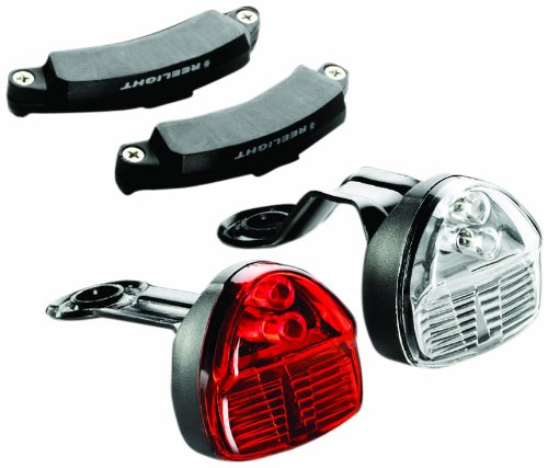 ing Compact Bicycle Headlight and Tail Light Set ()