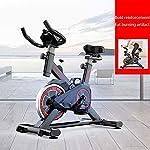 Tingeart-Bike-Magnetica-Freno-a-Frizione-Micro-Regolazione-di-sellino-e-ManubrioFstruttore-di-Fitness-Cardio-Trainer-Attrezzo-Sportivo-Allenamento-CorpoNero