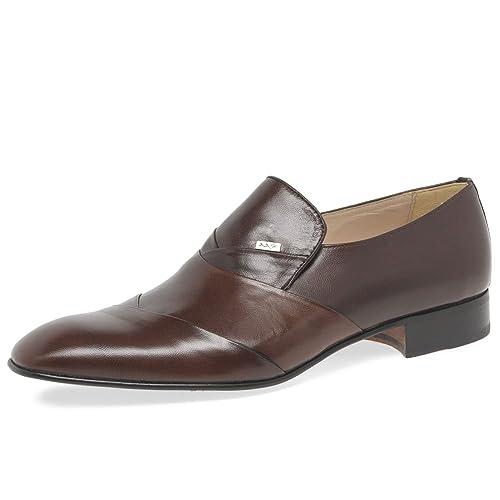 Paco Milan - Mocasines de cuero para hombre: Amazon.es: Zapatos y complementos
