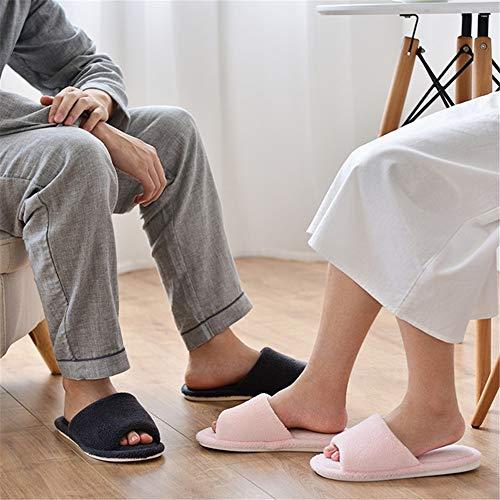 uso da da per antiscivolo antiscivolo da invernali bagno B YMFIE donna domestico Pantofole uomo invernali Pantofole w5Oq70CB