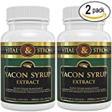 Cheap Vital & Strong Yacon Syrup Pure Extract 120 Count