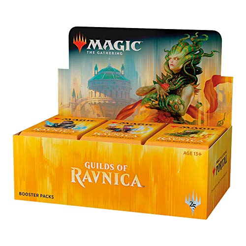 - Magic: The Gathering Ravnica Allegiance Deck Builder's Toolkit | 4 Booster Packs (125 Cards)