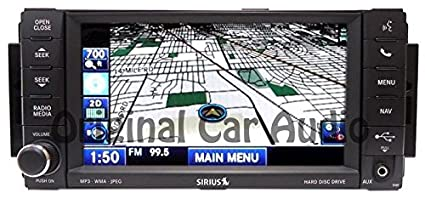 Amazon com: Chrysler Dodge Jeep RAM Radio Navigation Touch Screen