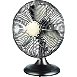 Cozy Breeze 12-in 3-Speed Oscillation Desk Fan