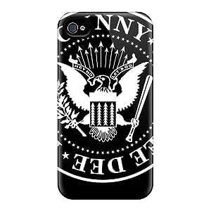 Excellent Hard Phone Cases For Apple Iphone 4/4s (sHD17060VsLP) Unique Design Nice Ramones Skin