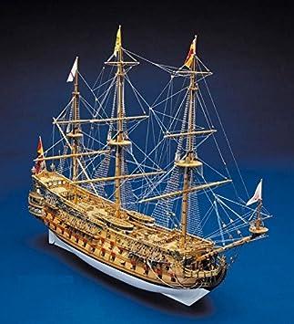 Modellschiff San Felipe Holzschiff Segelschiff Schiffsmodell Modellschiff Schiffsmodelle