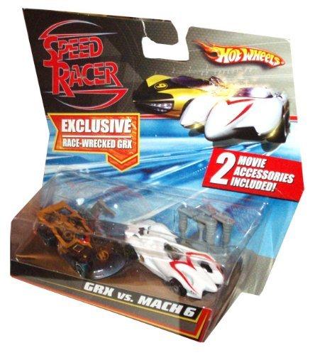 Hot Wheels Speed Racer 2 Pack (Hot Wheels Racer Speed)