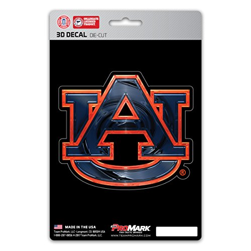 Team ProMark NCAA Auburn Tigers 3-D Decal