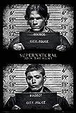 Supernatural- Mug Shots Poster 24 x 36in