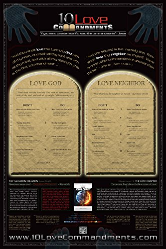 - 10 Love Commandments Poster (24 x 36)