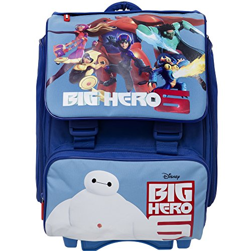 Big Hero 6 Kids Trolley Backpack Cabin Bag Kids Hand Luggage Trolley kids  hand luggage flight bags kids hand luggage robot With On wheels for boys  kids ... 104172a173
