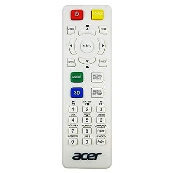 Acer MC.JKL11.007 - Mando a Distancia para proyector: Amazon ...