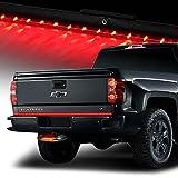 Bully CR-605L Chrome Hitch Step w/LED Brake Light+60'' Tail Light Bar