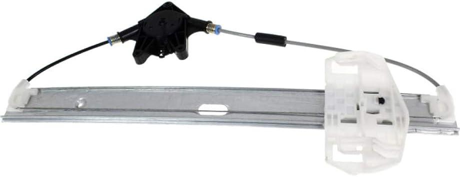 Power Window Regulator with Motor Rear Passenger Right RH for Jeep Wrangler New