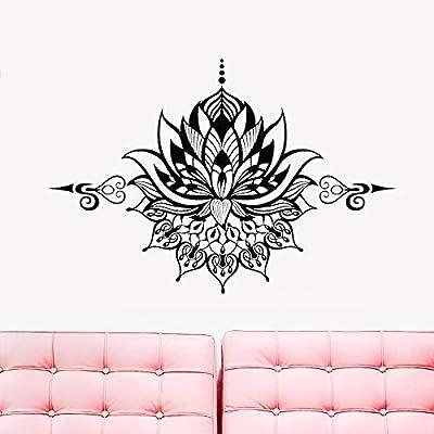 Flor de Loto Vinilo Tatuajes de Pared Dormitorio Yoga Budismo ...