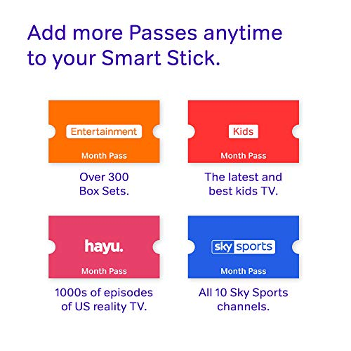 NOW TV Smart Stick with HD & Voice Search with 2 Month