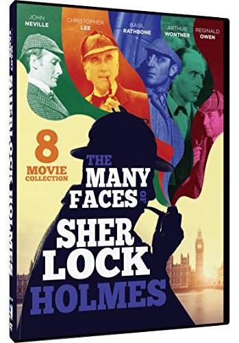 Full Face Dvd (Many Faces of Sherlock Holmes, The - 8 Mystery Collection)