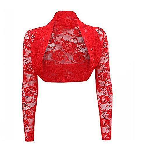 CoutureBridal - Chaqueta - para mujer Rojo