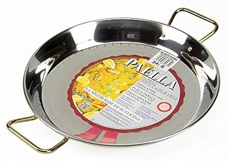 Paella de utensilios de cocina Set de regalo para 3-5 (34 cm de la cacerola): Amazon.es: Hogar