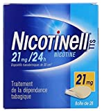 Nicotinell 21 MG 24 Hour Nicotine Patch Smoking Cessation - 28 Patches