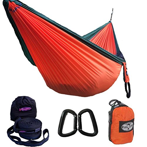 Light Weight Parachute Camping Hammock- A Start Up Company Gear at Half The Cost of The Other Guys