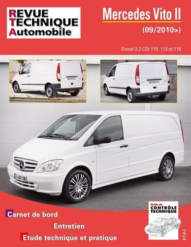 E.T.A.I - Revue Technique Automobile B779.5 MERCEDES VITO II - 639 PHASE 2 - 2010 à 2017: Amazon.es: Revue technique automobile: Libros en idiomas extranjeros
