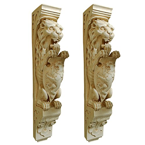Lion Wall Sculpture (Set of 2) (Design Wall Mantels)