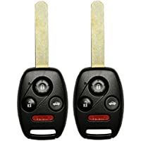 2 QualityKeylessPlus Remote Head Key Uncut Blade with 46 Chip For FCC ID: OUCG8D-380H-A 4 Button FREE KEYTAG