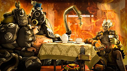 XXW Artwork Overwatch Junkrat Poster Character/Defense Prints Wall Decor Wallpaper