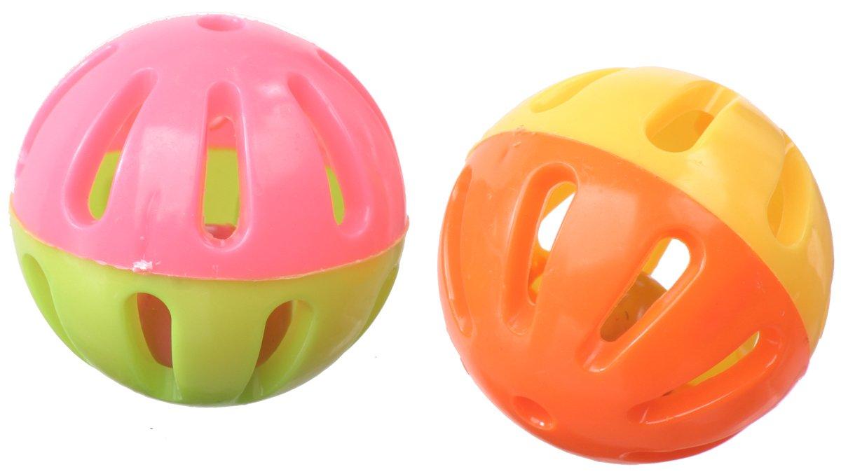 Super Bird Creations Birdie Balls Toy for Birds, 2-Inch