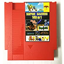 143 in 1 NES Super Games Multi Cart 72 Pin Limited Edition (Red)