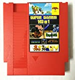 zelda classic - 143 in 1 NES Super Games Multi Cart 72 Pin Limited Edition (Red)