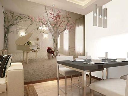 Moderno Camera Da Letto Ciliegio.Spazio 3d Murale Estensione Soggiorno Camera Da Letto Decorazione