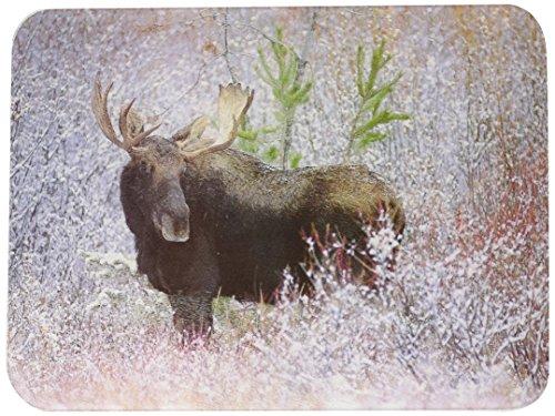 (Tuftop Christmas Moose Cutting Board Size: Medium (12
