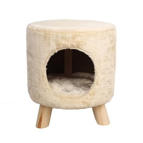 Amazon.com: denzihx mascota casa taburete silla gato perro ...
