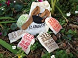 Guerilla Gardening Kit: Complete with 35 Organic Seed Bombs + Slinger