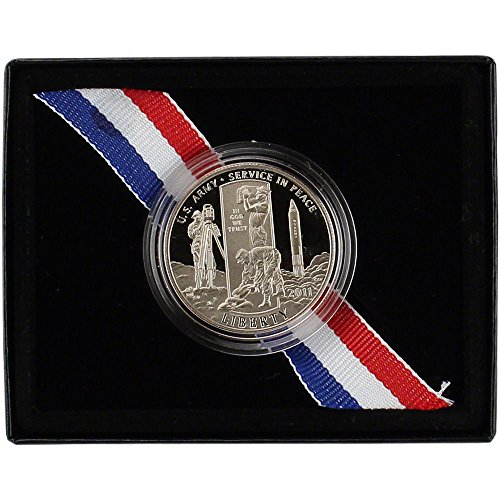 2011 S Army Peace Time Commemorative Clad Proof Half Dollar - Peace Dollars Commemorative Coins