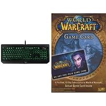 World of Warcraft 60 Day Game Time [Digital Code] and Keyboard Bundle